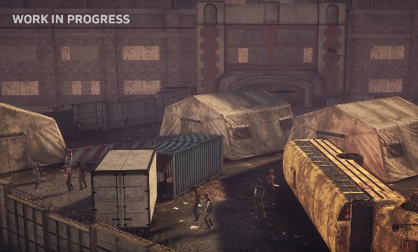 行尸走肉猛攻VR游戏官方正版 v1.0截图
