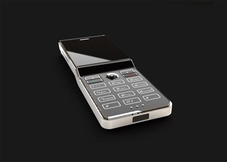 机身流线型设计-纸片也能变手机 近期最火概念手机一览
