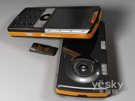 持USB扩展 索尼爱立信概念手机展示