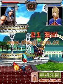 热血争霸Ⅲ-超级KO格斗图