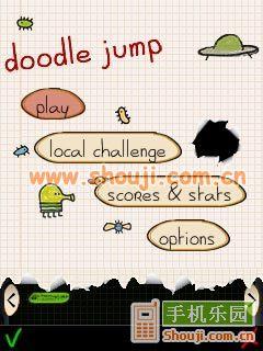 涂鸦跳跃豪华版  Doodle Jump Deluxe图