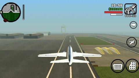 gta侠盗猎车手圣安地列斯怎么开飞机   开大飞机技巧攻略